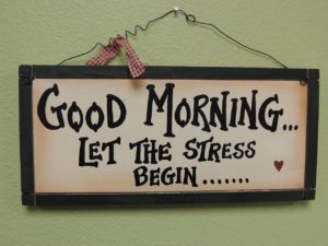 let the stress begin